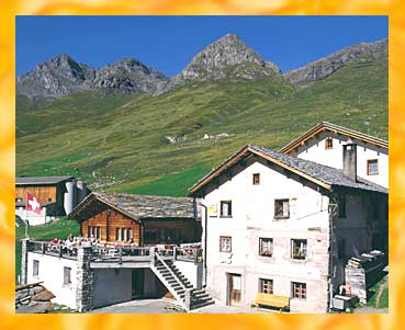 Pension Edelweiss - 7448 Avers-Juf - 2126 m ü. M.